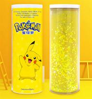 Умный пенал тубус Пикачу (Pikachu Pokemon) с блестками купить