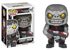 Фигурка Локаст Дрон (Locust Drone) из игры Gears of War