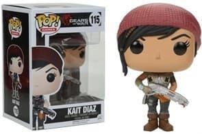 Фигурка Кейт Диаз Арморд (Kait Diaz Armored)  из игры Gears of War