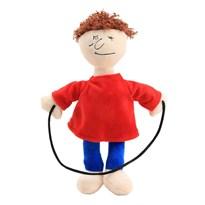 Плюшевая кукла игрушка Балди Басикс со скакалкой (Baldis Basics) 20 см купить в России