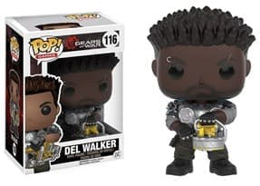 Фигурка Дел Уолкер Арморд (Del Walker Armored) из игры Gears of War