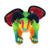 Мягкая игрушка разноцветный Дракон Пепита из мультфильма Тайна Коко 15 см купить в России