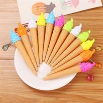 Набор ручек в виде мороженого (2 штуки)