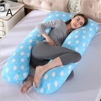Подушка для Беременных и для кормления облака (голубая)