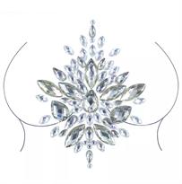 Алмазная Наклейка татуировка на грудь кристаллы купить