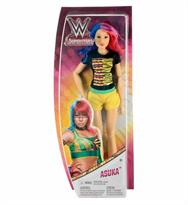 Кукла Аска (WWE Superstars Asuka Doll) купить в Москве