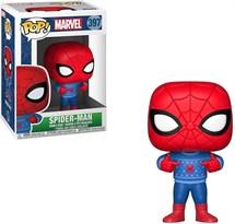Фигурка Человека-Паука в свитере (Spider-Man POP Marvel Holiday Figure) №397 купить в Москве
