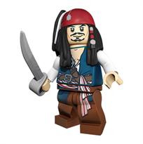 Фигурка совместимая с Лего Джек Воробей (Jack Sparrow) купить в Мосве