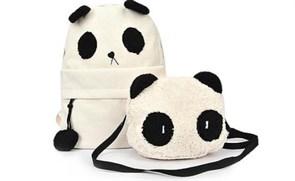 Набор Рюкзак и сумка Панда купить в России