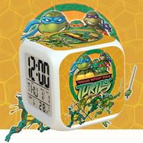 Настольные электронные часы Черепашки ниндзя с будильником