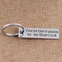 Парные брелоки из серии Шерлок Холмс и доктор Ватсон (Ватсон)