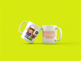 Кружка Дастин и демогоргон Очень странные дела (Stranger Things) купить