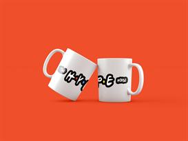 Кружка с надписью Хайп Хаус (Hype House) в стиле лого сериала Друзья купить