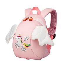 Детский Рюкзак единорог с крыльями (розовый) купить в России