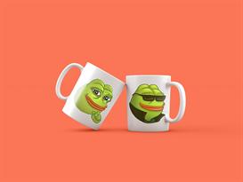 Кружка с мемом лягушка Пепе (Pepe the Frog) купить