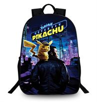 Рюкзак с принтом из фильма Детектив Пикачу (Pokemon Detective Pikachu) купить