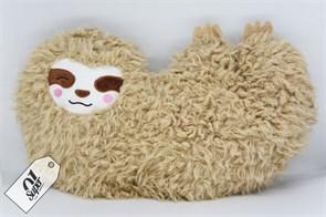 Плюшевая подушка ленивец купить