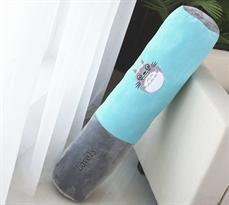 Мягкая игрушка подушка Тоторо в детскую кровать (Голубая) 95 см купить