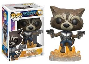 Фигурка Енот Ракета Стражи Галактики (Rocket Guardians of Galaxy Pop) № 201 купить