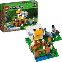 Конструктор Minecraft Птицеферма (LEGO Minecraft The Chicken Coop Building Kit) 198 деталей купить в России