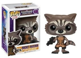 Фигурка Реактивный Енот (Rocket Raccoon) из фильма Стражи Галактики № 48