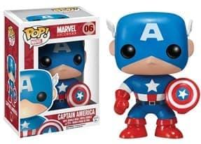 Купить фигурку Капитан Америка (Captain America) из вселенной Marvel № 06