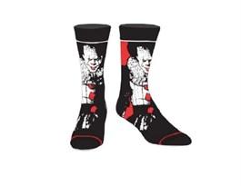 """Носки с клоуном Пеннивайзом """"Оно"""" (IT Scare Your Socks) купить"""