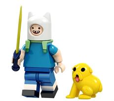 Фигурка совместимая с лего Финн из Время приключений с Джейком купить