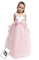 Розовое пышное платье с единорогом купить в Москве