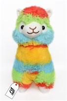 Плюшевая разноцветная альпака (35 см) купить в Москве