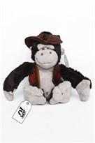 Плюшевая игрушка обезьяна в шляпе (20 см) заказать