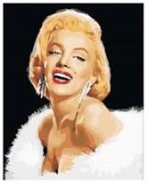 Картина по номерам Мэрилин Монро купить в России
