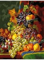 Картина по номерам Натюрморт с виноградом  купить в России