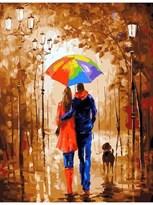 Картина по номерам Осенняя прогулка  купить в России