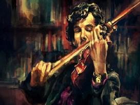 Картина по номерам Шерлок Холмс  купить в России