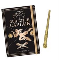 Блокнот и ручка Квиддич Гарри Поттер (Harry Potter Quidditch Notebook and Pen set) купить в России