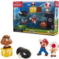 Набор фигурок из игры Супер Марио (Super Mario Nintendo Acorn Plains) купить в России