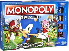 Настольная игра Монополия Соник (Monopoly Game Sonic The Hedgehog Board Game) купить в России