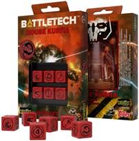 Набор игральных костей Battletech Дом Курита (House kurita Dados Set) купить в России
