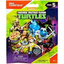 Конструктор 8 мини фигурок Черепашки Ниндзя (Mega Construx Teenage Mutant Ninja Turtles Micro Action Figures) купить в России