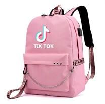 Рюкзак Tik Tok розовый купить
