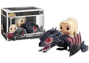Фигурка Дейнерис и Дрогон (Drogon with Daenerys) из сериала Игра Престолов № 15