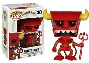 Фигурка Рободьявол Футурама (Robot Devil Futurama Funko Pop Figure) №30 купить в Москве