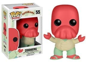 Фигурка Доктор Зойдберг Футурама (Zoidberg Futurama Funko Pop Figure) №55 купить в Москве