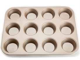 Форма для выпечки кексов круглая 12 шт купить в России