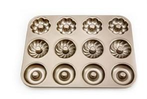 Форма для выпечки кексов узорная 12 шт купить в России с доставкой