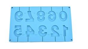 Силиконовая форма цифры на палочке 10 шт купить в России с доставкой