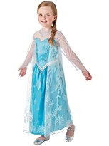 Детский костюм Эльзы Холодное сердце (Frozen Elsa Snow Queen Deluxe Costume) купить оригинал