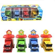 Игровой набор Тайо, Роги, Гани и Рани с гаражом из мультфильма Тайо маленький автобус купить в Москве с доставкой