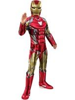 Детский костюм Железного Человека с маской (Marvel Endgame Iron Man Deluxe Costume) купить в Москве